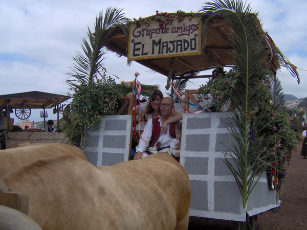Vor der grossen Romeria 2008 in Tacoronte