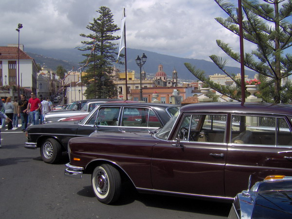Oldtimer Ausstellung in La Orotava