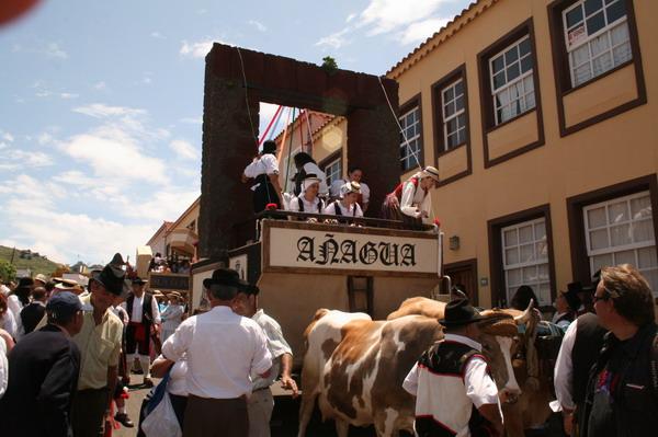 Romería 2009 in Tegueste Teneriffa