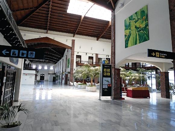 Flughafen La Gomeras zertifiziert.