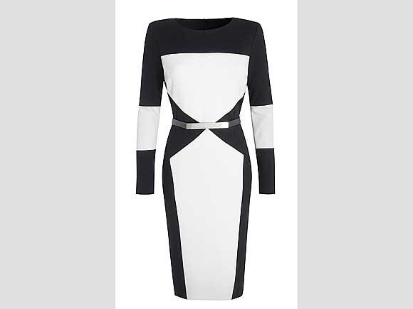 Ein Kleid wie ein grafisches Kunstwerk. Von Debenhams