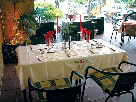 In der Cafeteria Larimar sitzt man gemütlich, auch für eine kleine Feier im Freundeskreis.