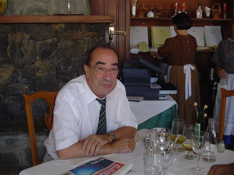 Director of the Parador at Las Cañadas, Jesús Garrido Pozo