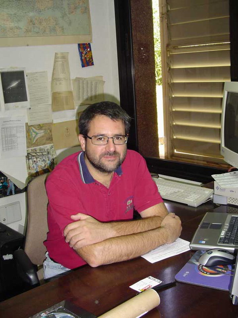 Miguel Serra Ricart, director of the Teide observation complex at Izaña