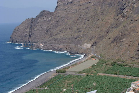 New electricy lines for Hermigua, La Gomera,  will be laid soon