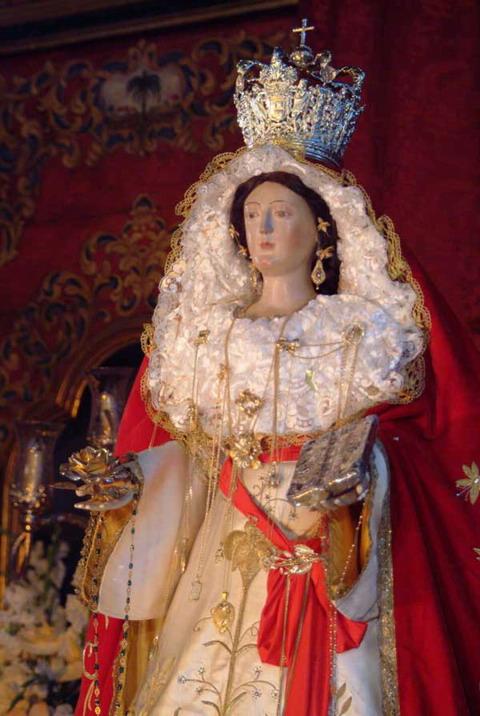The Virgen de la Encarnación