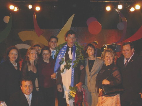 Nacor García Suárez, Mr Tenerife 2004