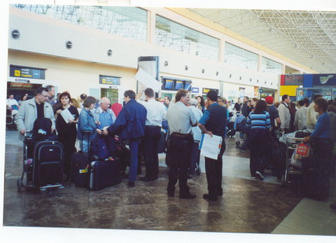 Extra security is needed in airports to control the entry of illegal immigrants
