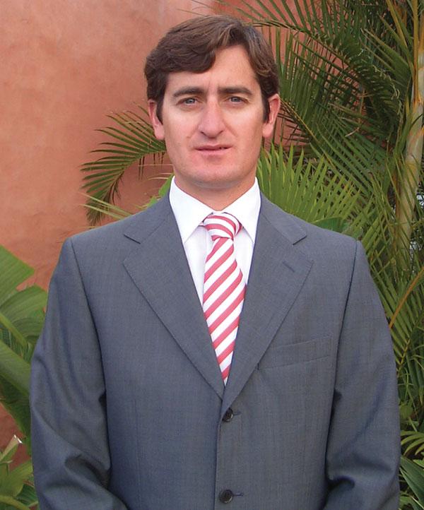 Abama marketing and development manager, Ramon Garayar