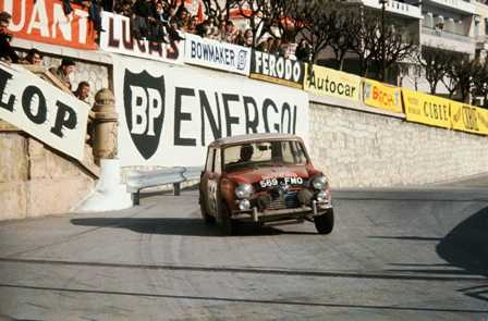 The racing Mini Cooper