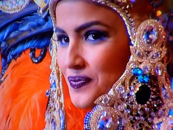 Karnevalskönigin von Santa Cruz 2014: Amanda Perdomo San Juán