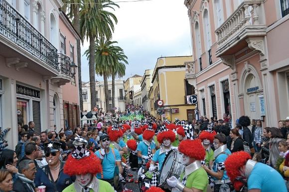 Der Karnevalsumzug in La Orotava.