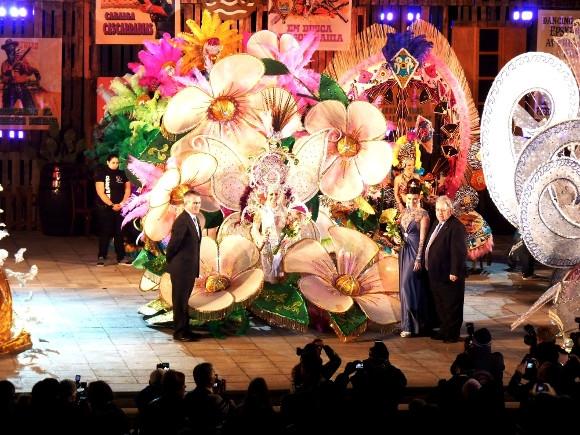 Karnevalskönigin 2014 von Puerto de la Cruz