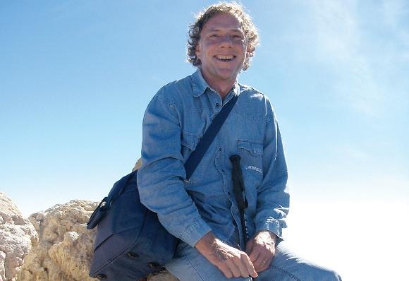 Daniel A. Kempken auf dem Teide, dem höchsten Berg Spaniens.