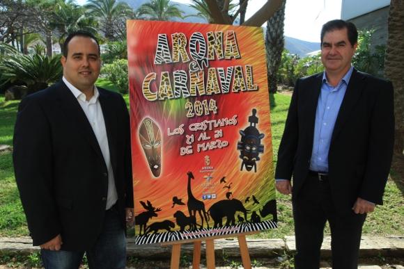 Karneval in Arona.