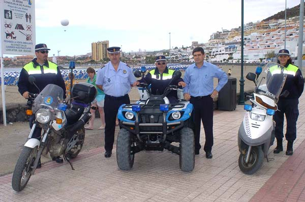 Swifter, more effective security for Arona beach users