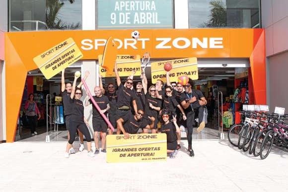 Sport Zone eröffnet in Las Américas