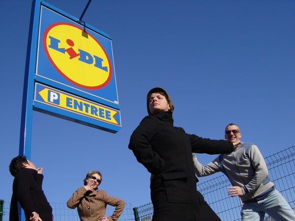 Lidl has stores all over Europe