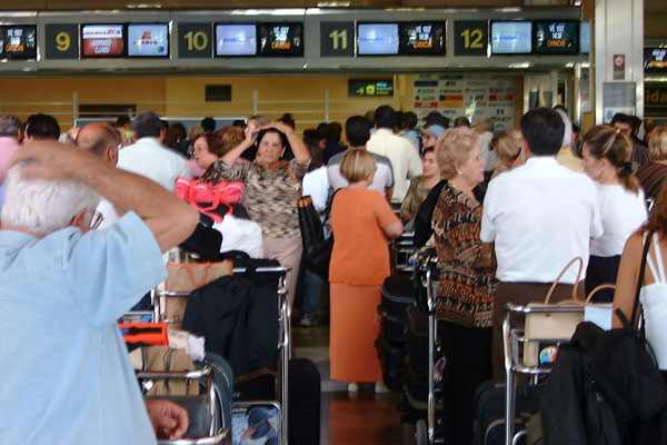 Expect more airport chaos on the May bank holiday weekend