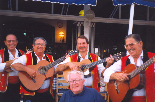 There is always a strong musical element to Canarian festivals