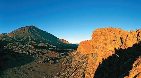 Wie sieht es im Inneren des Teide-Vulkankraters aus?