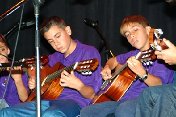Learn to play a musical instrument or improve your skills at the Adeje Music School