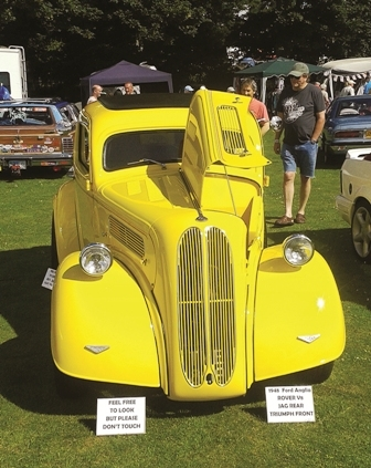 An eye-catching custom Ford Popular