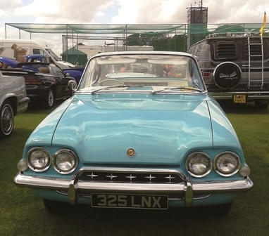 A beautifully maintained Ford Classic Capri