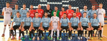 Uruguay Tenerife's squad and staff