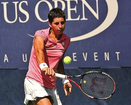 Carla Suárez at the 2011 US Open