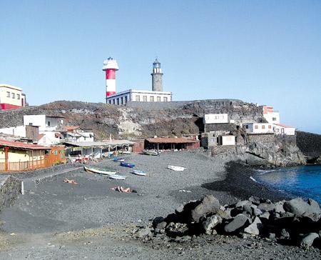 Der Leuchtturm bei Fuencaliente