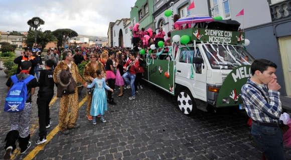Der Karnevalsumzug in La Orotava war ein voller Erfolg.
