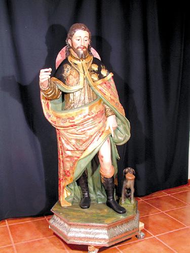 Die restaurierte Statue