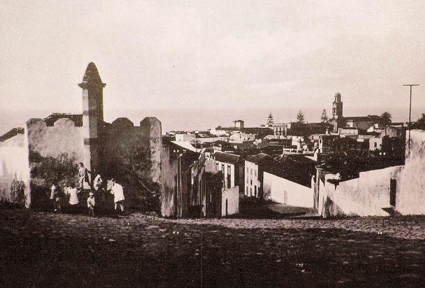 Blick in Richtung der Plaza del Charco in Puerto de la Cruz