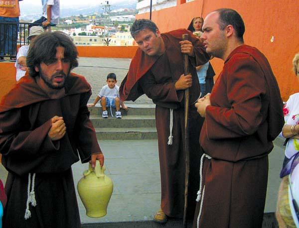 Mönche bewirtschaften einst das Kloster San Francisco