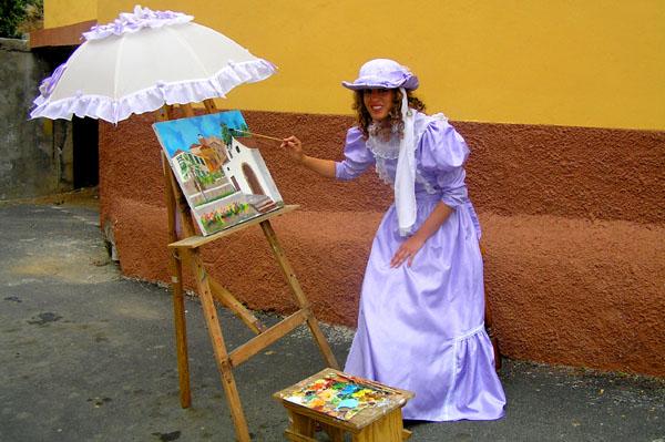 Die englische Malerin Elizabeth Murray porträtierte das Orotavatal zu Zeiten Humboldts