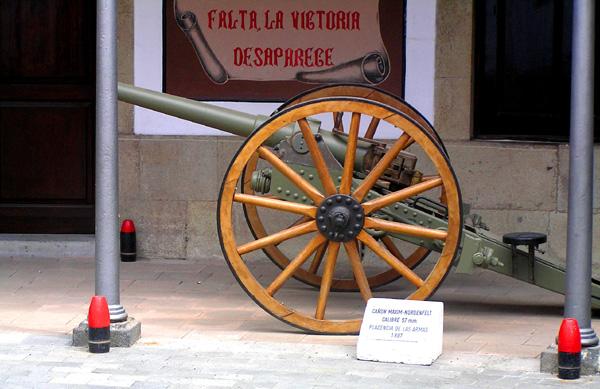 Kanone aus dem Jahr 1897