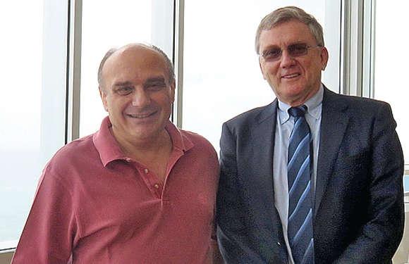 Ein interessantes Gespräch mit den beiden Experten Prof. J. Guenther und Prof. R. Vasiu.
