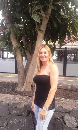 Sonya Loughlin, poised for action