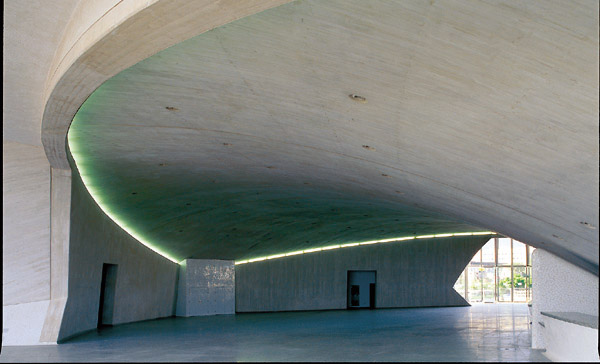Das geräumige Foyer