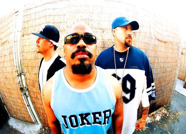Die Stars des Abends: Cypress Hill