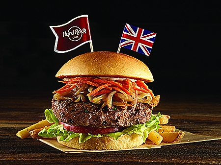 The British Lancashire Hot Pot Burger