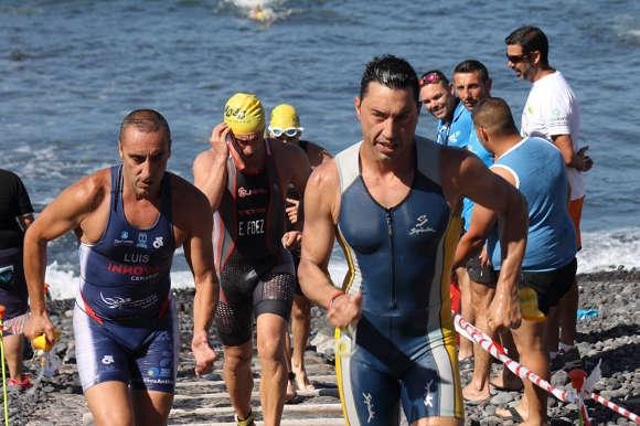 Eine große Herausforderung – der Aquathlon von Garachico.