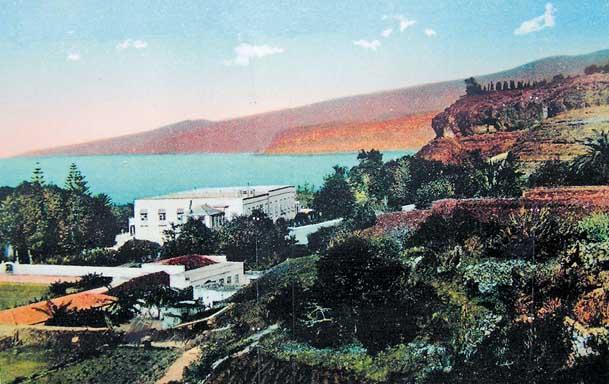 Puerto de la Cruz im 19. Jahrhundert