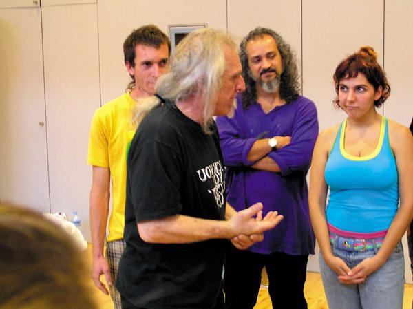 Clown-Workshop mit Jango Edwards