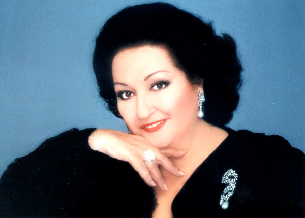 Opern-Diva Caball� gastiert in La Orotava