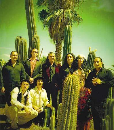 Ethno-Rock mit Ojos de Brujo gibt es im Mai zu hören