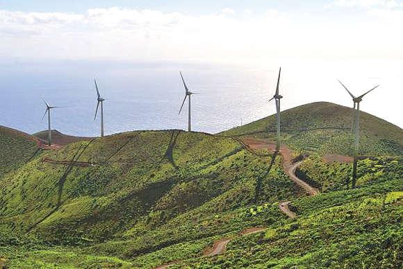 Der Windpark von El Hierro bringt den Traum von einer autarken Energieversorgung zum Greifen nah.