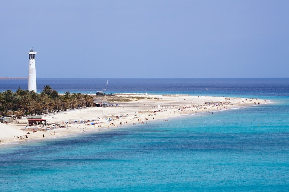 Playa de Jandía in der Gemeinde Pájara auf Fuerteventura.