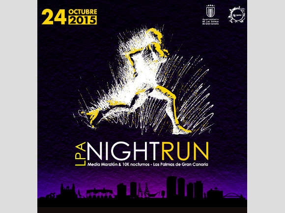 LPA Nightrun 2015 am 24. Oktober in Las Palmas